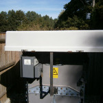 Trellech fitted Weather Shield