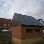 GRP roof & vents